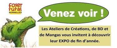 Exposition BD et Mangas