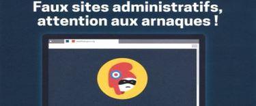 Démarches en ligne : attention aux arnaques