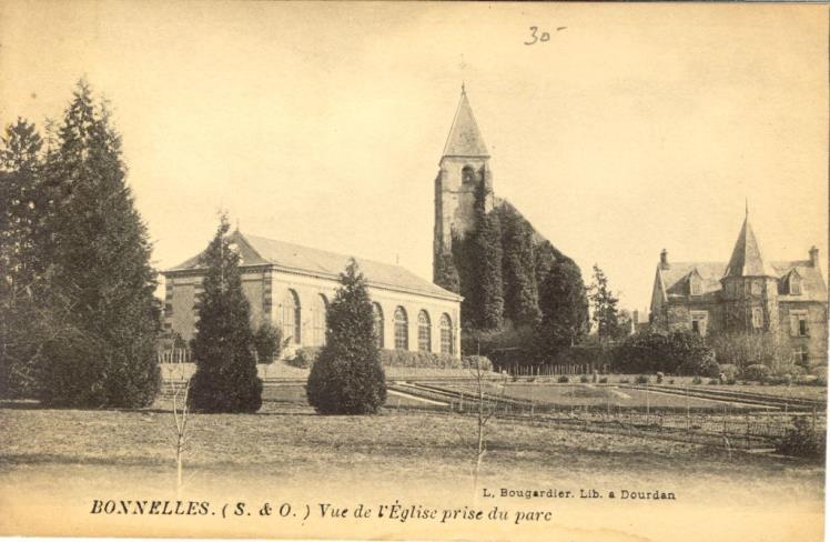 cartes anciennes Orangerie église.jpg